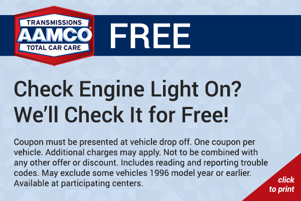 check engine light coupon